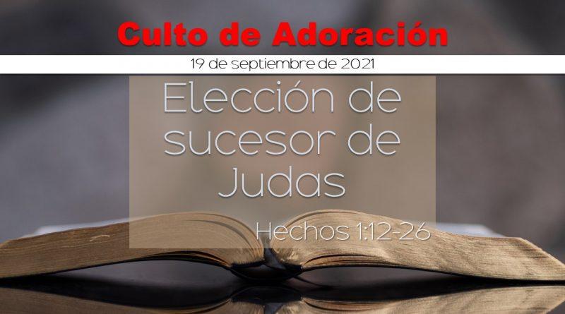 Culto de Adoración 9:00 am – 19 de septiembre, 2021